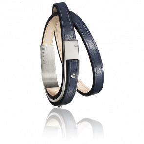 Bracelet U-Turn Révolution Marine Fermoir Acier