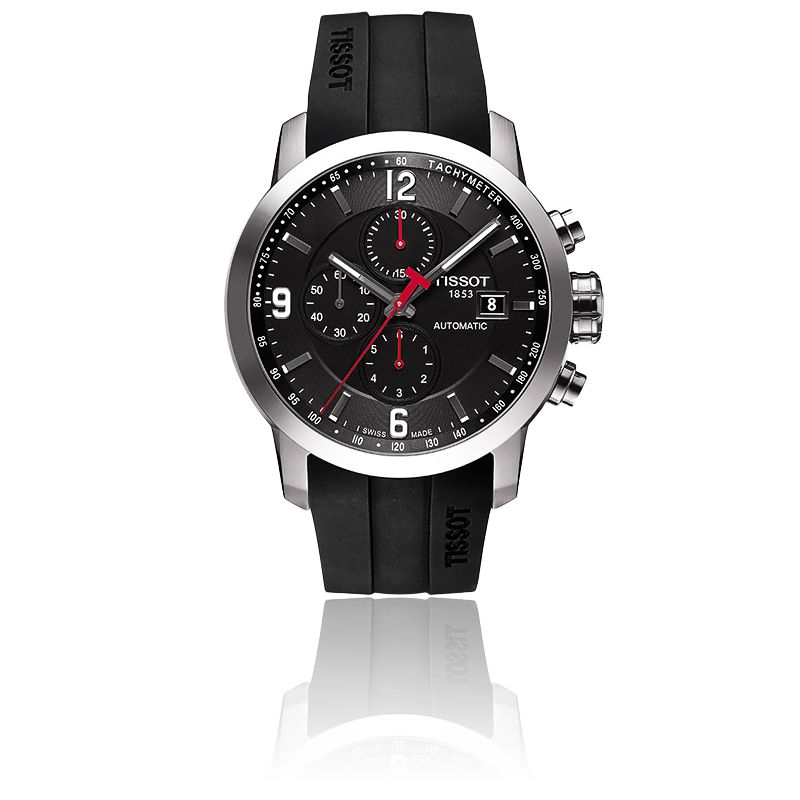 prc 200 auto chronograph t0554271705700 tissot ocarat. Black Bedroom Furniture Sets. Home Design Ideas