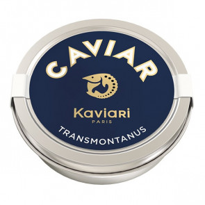 50g de caviar d'esturgeon blanc