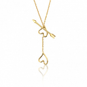 Collier Nude Or Jaune 18K