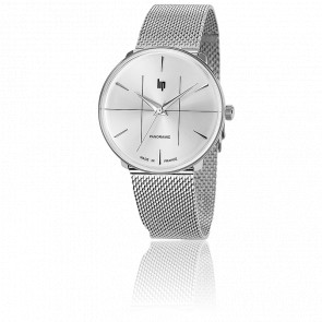 Panoramic 34 Classic Chrome Milanese 671066