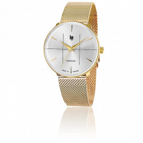 Panoramic 34 Classic Gold Milanese 671065