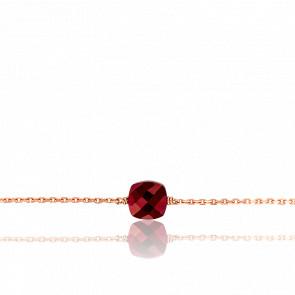 Bracelet Gemme Or Rose 18K & Rubis 1,72ct PM