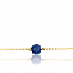 Bracelet Gemme Or Jaune 18K & Saphir 1,66 ct PM