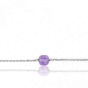 Bracelet Gemme Argent & Améthyste 0,86 ct