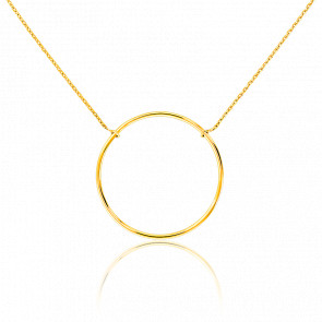 Collier Cercle Or Jaune