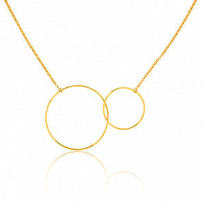 Collier Cercles GM Or Jaune