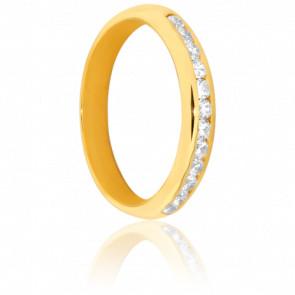 Alliance Moulouya Or jaune 18K & Diamants 0.25ct