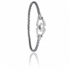 Bracelet 732 Gréement Acier Tressé