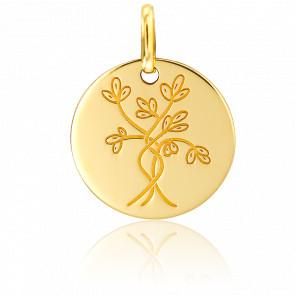 Médaille Arbre de Vie Douceur Or Jaune 18K