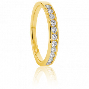 Alliance Anténor, Diamants 0,30 ct & Or Jaune 18K