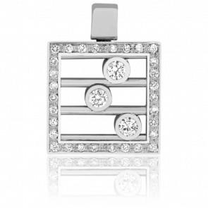 Pendentif Boulier diamanté