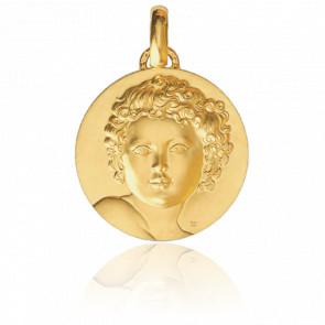 Médaille Enfant Roi Or Jaune 18K