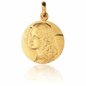 Médaille Ange Léonard de Vinci Or Jaune
