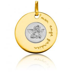 Médaille Mon Ange Gardien 2 Ors 18K