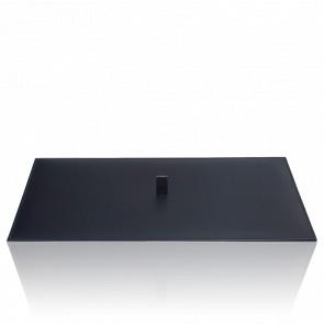 Couvercle Simili Cuir Noir pour Bac Vault Tray