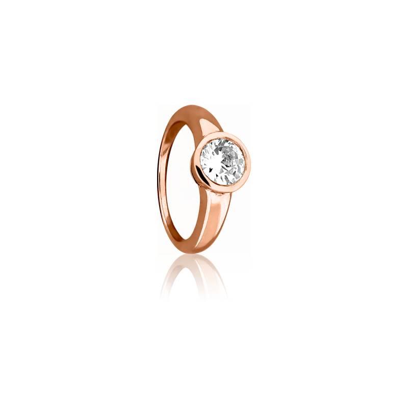 Bague Elégance Or Rose & Diamant 0,30ct