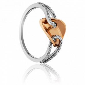 Bague Mithi 2 Ors et Diamants 18k