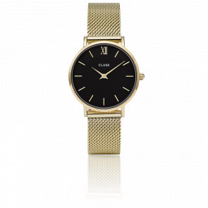 Minuit Mesh Gold Black CL30012
