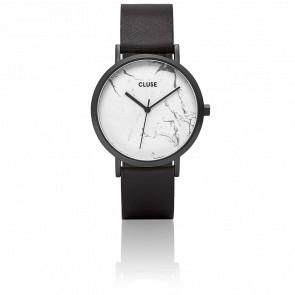 La Roche Full Black/White Marble CL40002