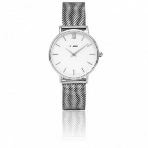 Minuit Mesh Silver White CL30009
