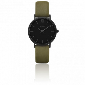 Minuit Full Black Olive Green CL30007