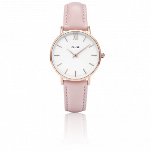 Minuit Rose Gold White Pink CL30001