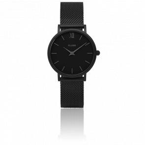 Minuit Mesh Full Black CL30011