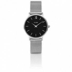 Minuit Mesh Silver Black CL30015