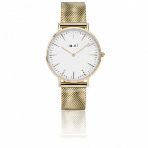 La Bohème Mesh Gold/White CL18109