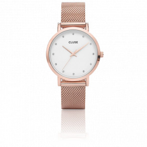 Pavane Rose Gold Stones CL18303