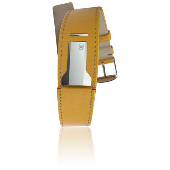 montre KLOKERS règle à calcul - Page 3 Bracelet-klink-01-jaune-newport-klokers