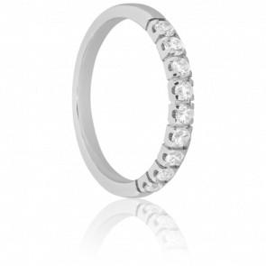 Alliance Weser Or blanc & Diamants