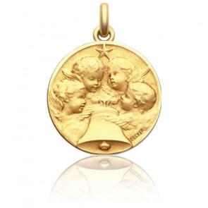 Médaille Angélus Or Jaune 18K