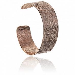 Bracelet Jonc Anita Cuivre Doré Or Rose 24K