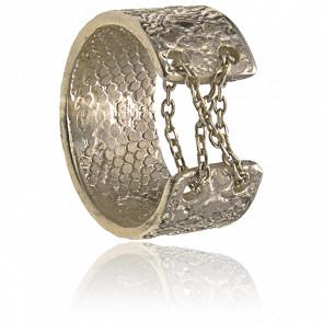 Bague Ava Bronze Plaqué Or Pâle