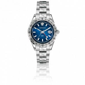 Montre Hellenyium GMT Cadran Bleu 42mm V1101 0015