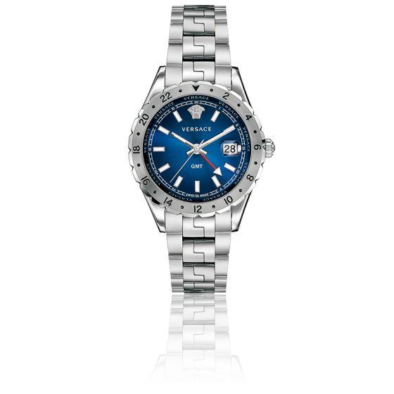 En stock Montre Hellenyium GMT Cadran Bleu 42mm V1101 0015 88de23ba711