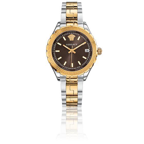 officiel grande sélection Meilleure vente Montre Hellenyium Lady 35 mm Marron - Versace - Ocarat