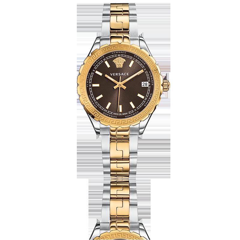 Montre Hellenyium Lady 35 mm Marron - Versace - Ocarat f04024b172e