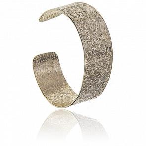 Bracelet Jonc Anita Cuivre Doré Or Pâle 24K
