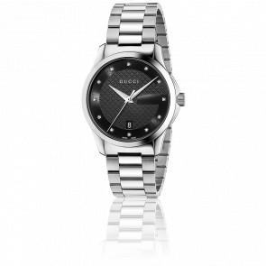 G-Timeless Restyle Cadran Noir 38 mm Acier YA126456