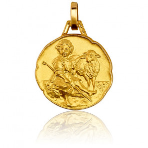 Médaille Divin Berger Or Jaune 18K