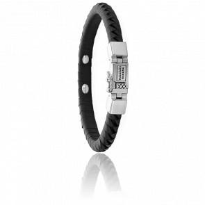 Bracelet Komang Small Leather Black