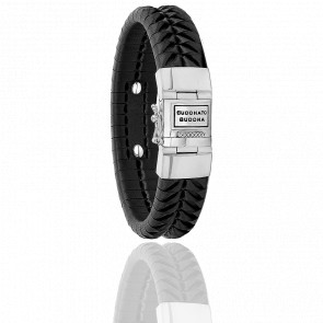 Bracelet Komang Leather Black