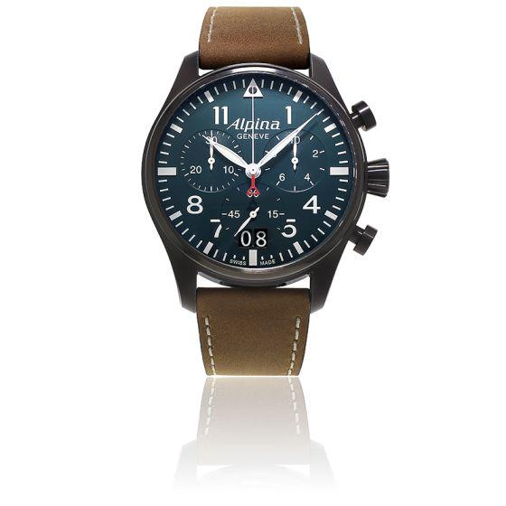 Alpina - [Conseil] La quête de la seconde - Budget 1000€ Pilot-chronograph-big-date-black-al-372n4fbs6-alpina