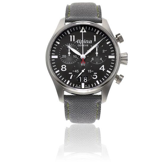 Startimer Pilot Big Date Chronograph AL-372B4S6