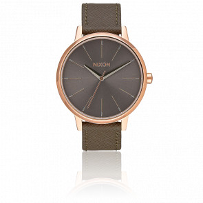 The Kensington Leather Rose Gold/Taupe A108-2214