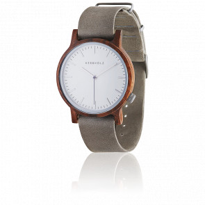 Montre Walter Walnut Concrete Grey WAL9882