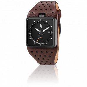 Big TV Black Dial Brown Leather 671138